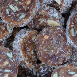 Healthy Cookie Kokos Dadels